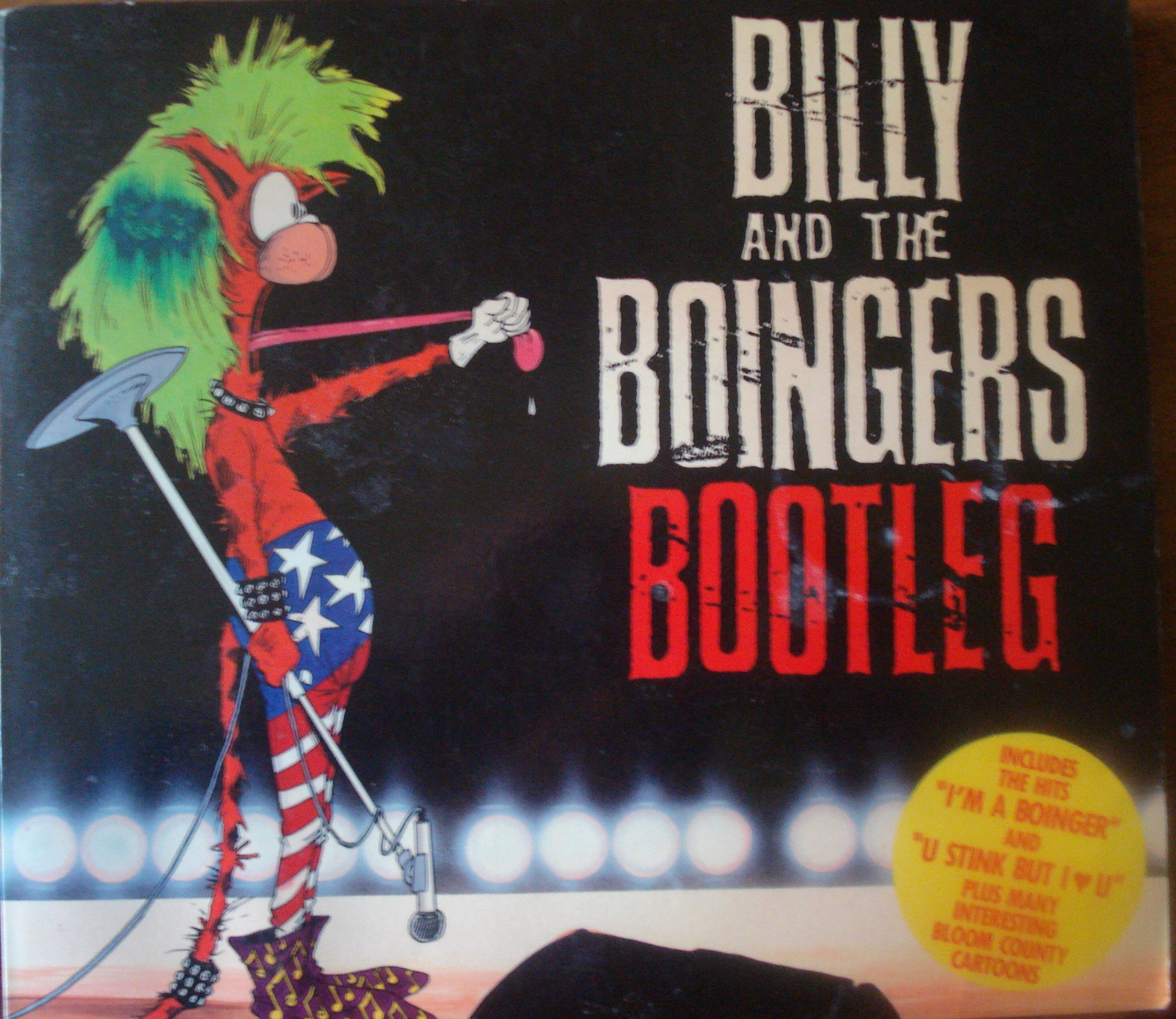 Billy And The Boingers - Bootleg