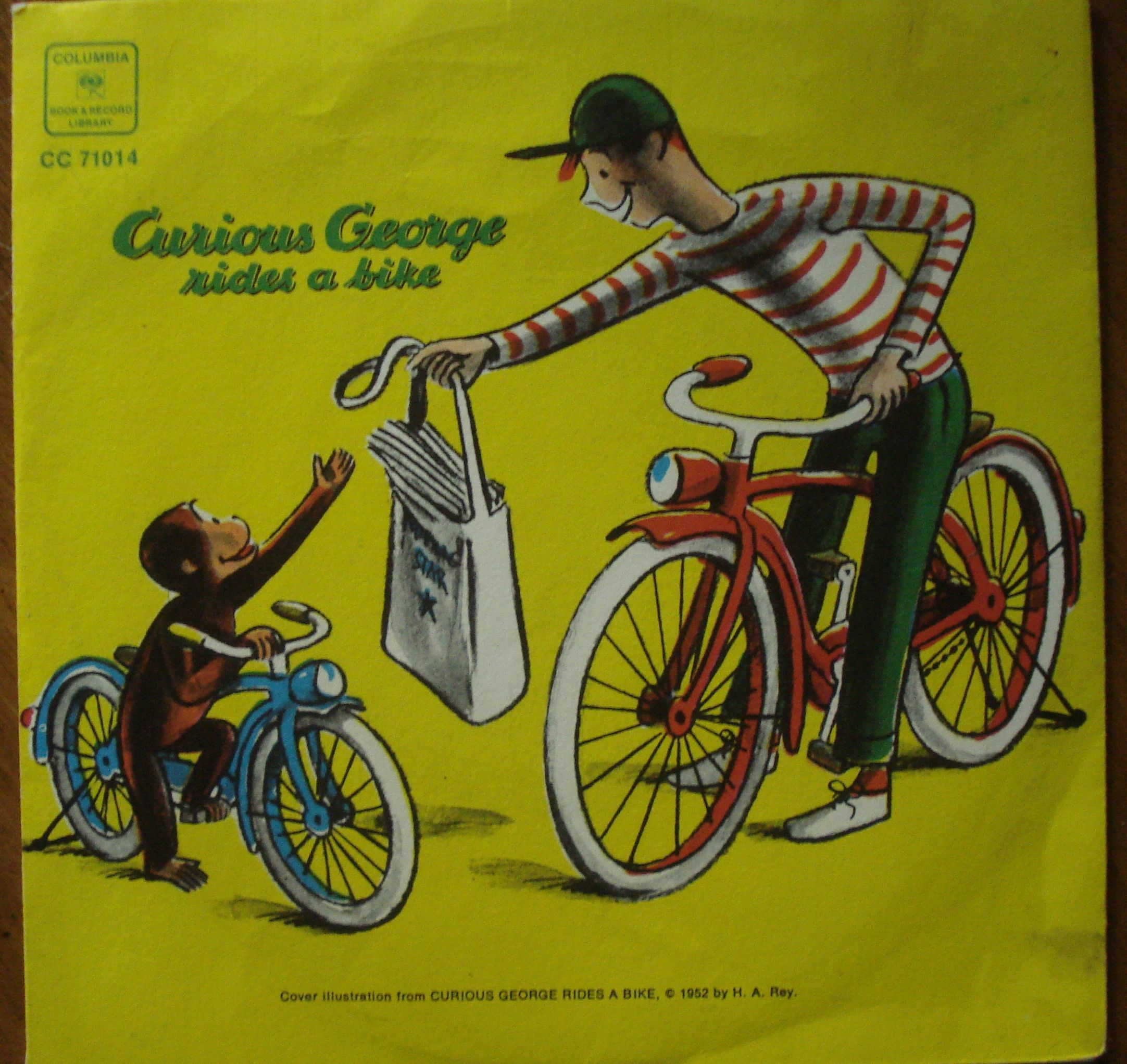 an analysis of the book curious george rides a bike by h a rey