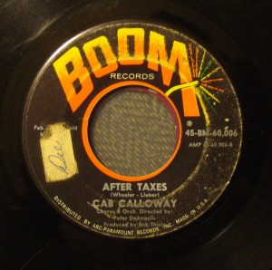 after taxes cab calloway