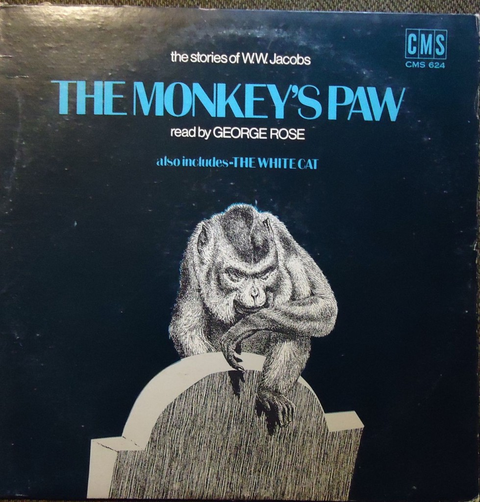 the monkeys paw The monkey's paw is a short story about a family who has a visit from a man possessing a strange monkey's paw the paw is supposed to grant three wishes but be careful what you my school teacher read this to our class for halloween one year when i was in junior high.