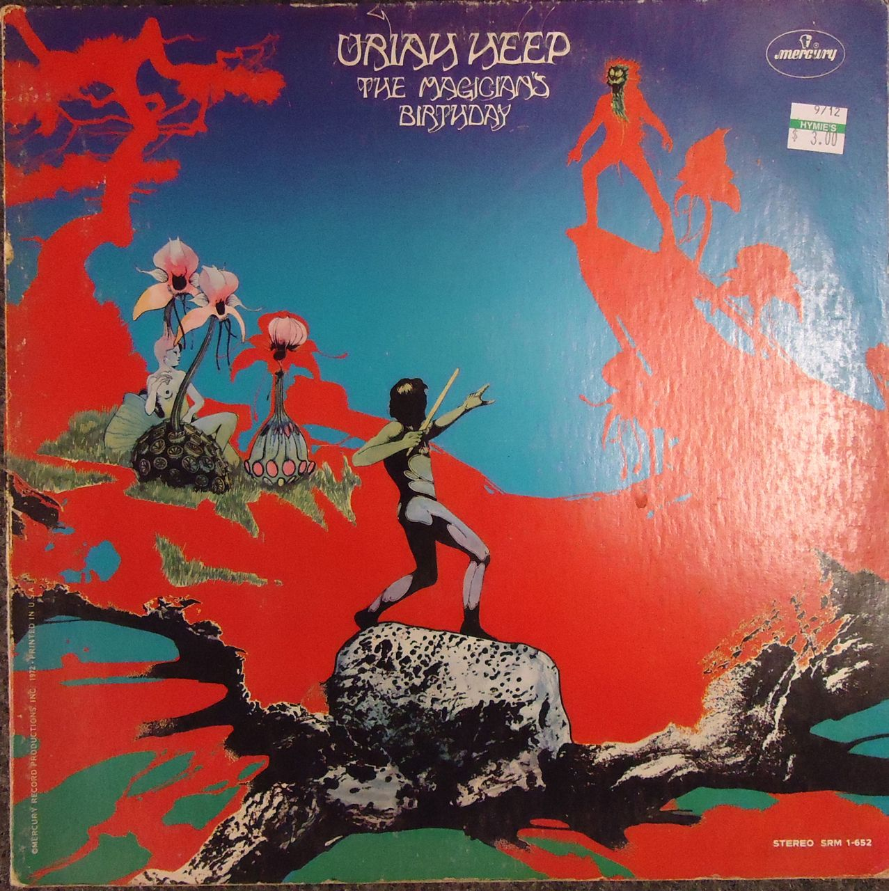 Hymies Vintage Records · The incredible record art of Roger Dean