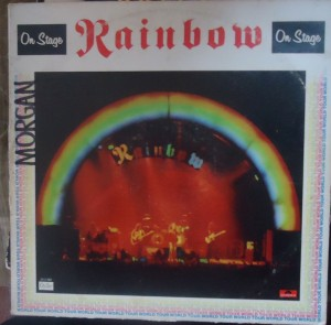 rainbow on stage