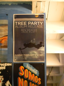 tree party flyer