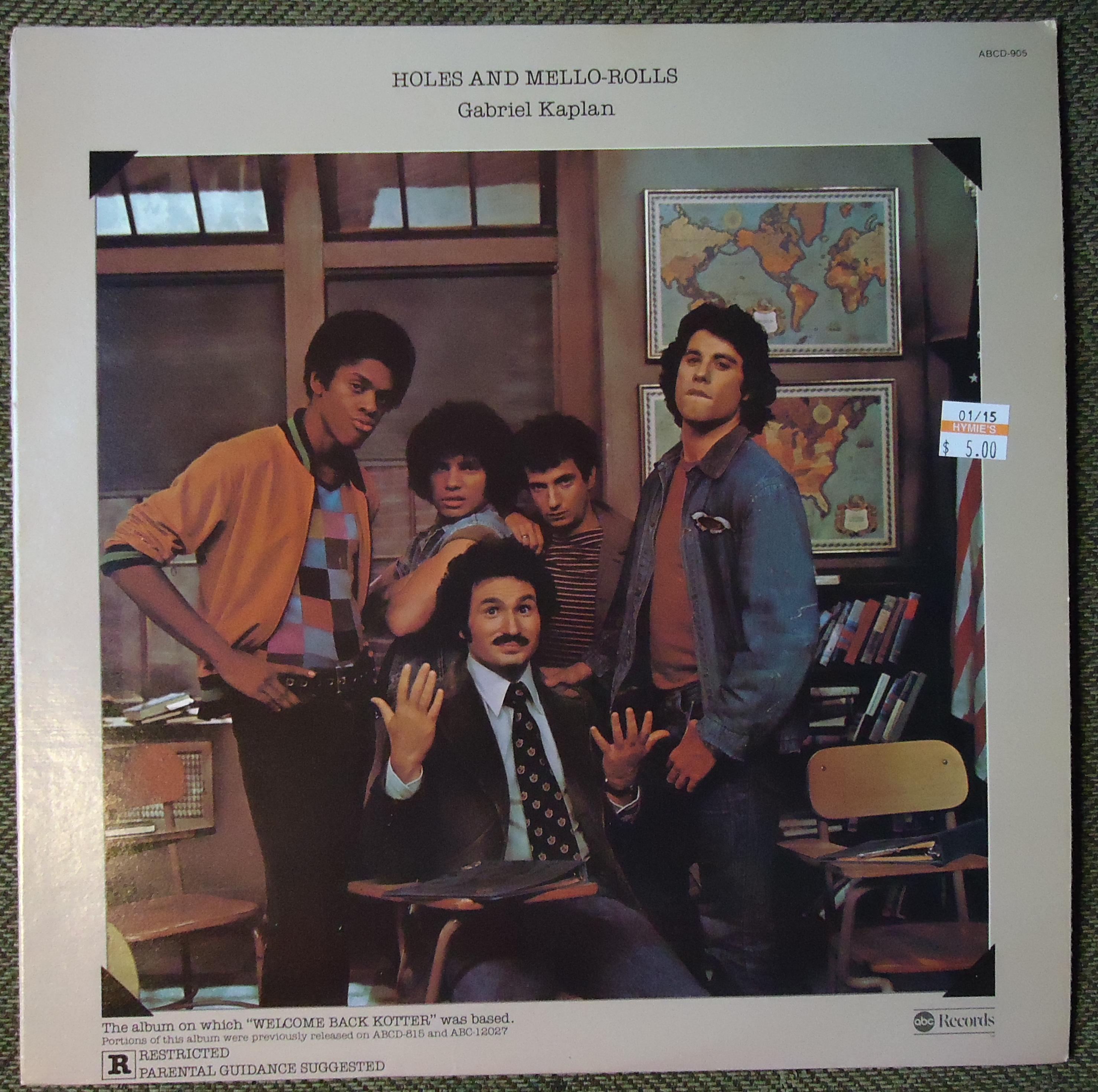 """Hymies Vintage Records · The music of """"Welcome Back Kotter"""""""