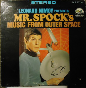 mr spock music from outer space