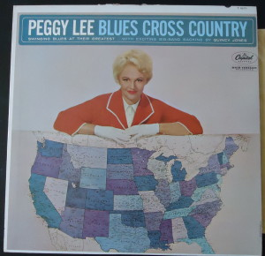 peggy lee blues cross country