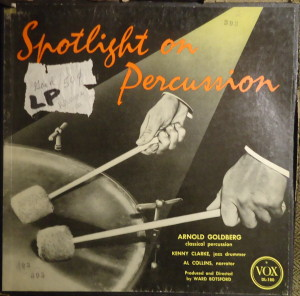 spotlight on percussion