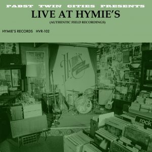 Live at Hymies web