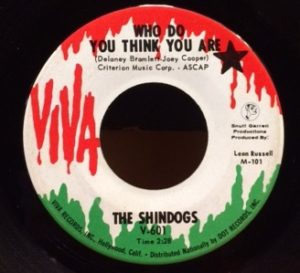 the-shindogs-who-do-you-think-you-are
