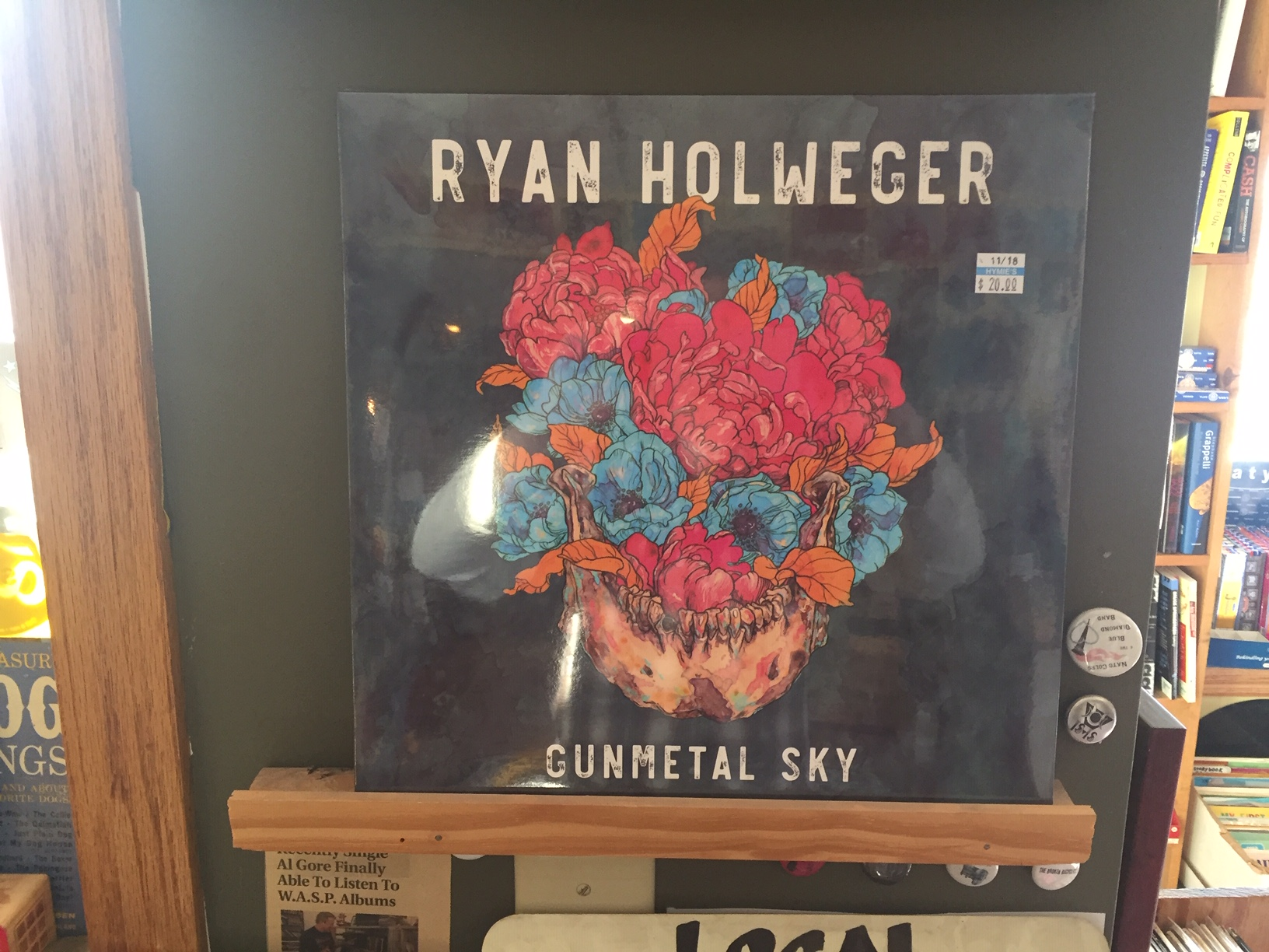 Fans of swoony country-rock be warned: the multi-talented Ryan Holweger is  going to be on your radar this winter.